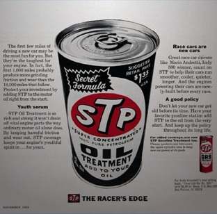 old can oil - STP