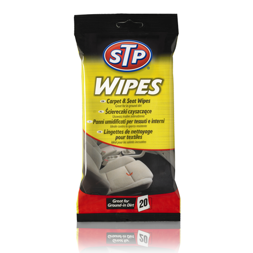 STP® Carpet & Seat Wipes