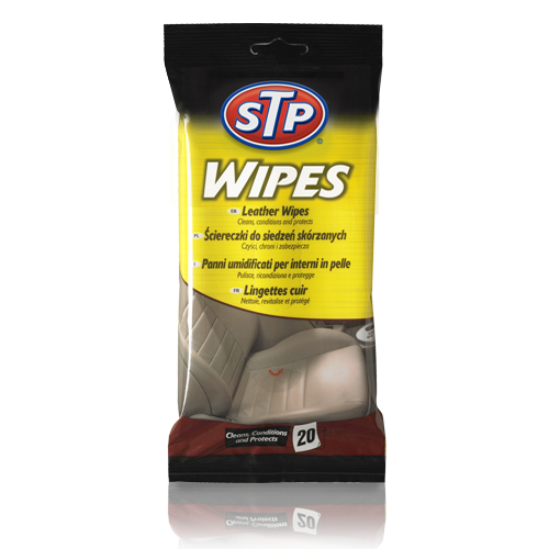STP® Leather Wipes